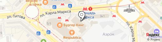 АвангардАвто на карте Новосибирска