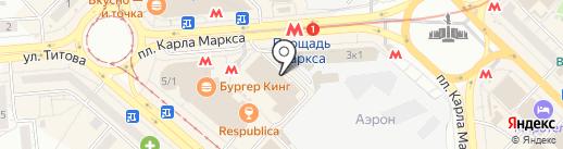 Мастерская профессиональной заточки на карте Новосибирска