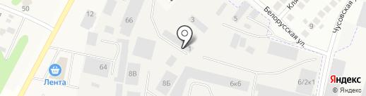 Foxy Box на карте Новосибирска