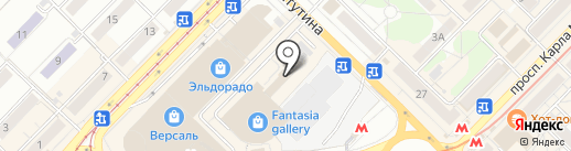 Второе дыхание на карте Новосибирска