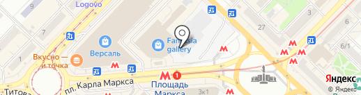 PIJAMKA на карте Новосибирска