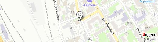 Гринвэй Логистикс на карте Новосибирска