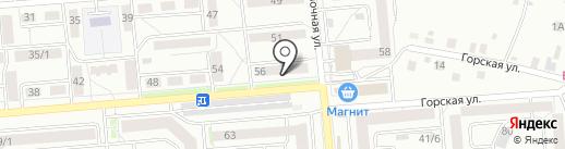 Кенгу 24 на карте Новосибирска