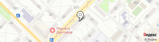 САНТЕХПРОФИ на карте Новосибирска
