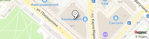 LuiDoor на карте Новосибирска