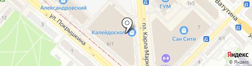 Perrino на карте Новосибирска