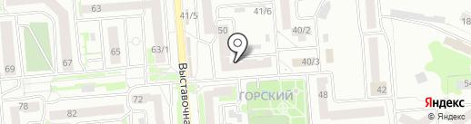 ГРАНИТ-ТД на карте Новосибирска