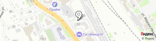 ЮРИСТ-АТЛАНТ на карте Новосибирска