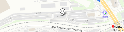 Малярная мастерская на карте Новосибирска