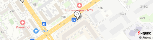 9 МЕСЯЦЕВ на карте Новосибирска