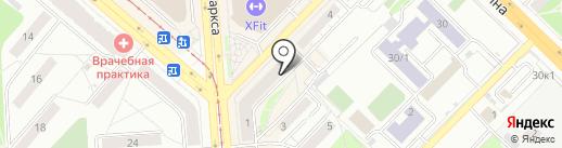 ПММД КО на карте Новосибирска