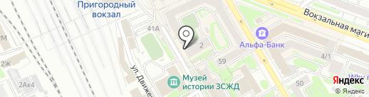 PUPER.RU на карте Новосибирска