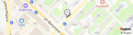 Doner House на карте Новосибирска