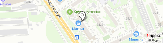 СибирьСтрой на карте Новосибирска