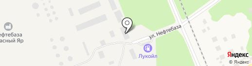 Банкомат, Альфа-банк на карте Красного Яра