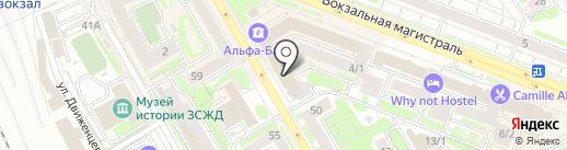ЛаГуНа на карте Новосибирска