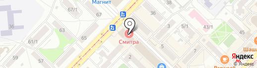 Квартирное бюро на карте Новосибирска