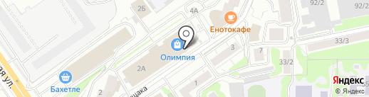НАРШАРАБ на карте Новосибирска