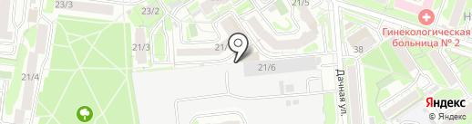 modno.one на карте Новосибирска