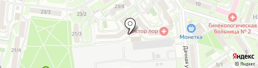 Goblin`s lab на карте Новосибирска