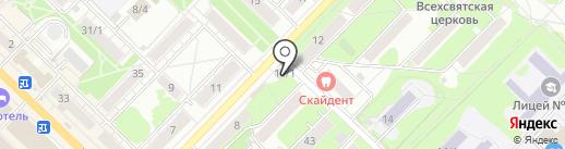 Магазин товаров для дома на карте Новосибирска