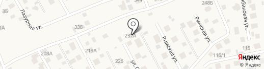Почта на карте Озерного