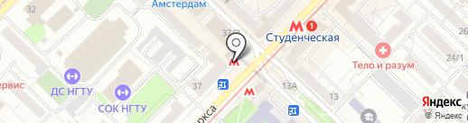 Ковчег на карте Новосибирска