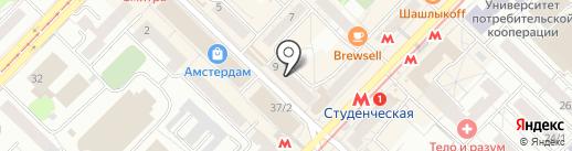 Почта Банк, ПАО на карте Новосибирска