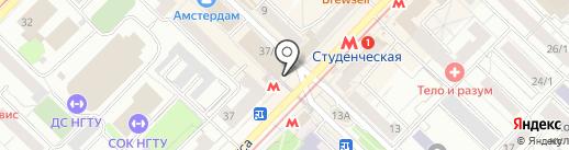 Softkey на карте Новосибирска