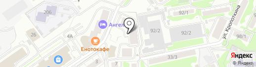 Магазин разливных напитков на карте Новосибирска
