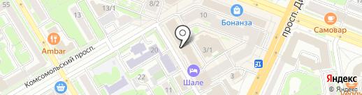 Хатор на карте Новосибирска