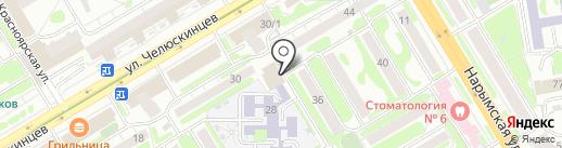 Wood на карте Новосибирска
