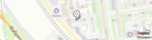 Особа на карте Новосибирска