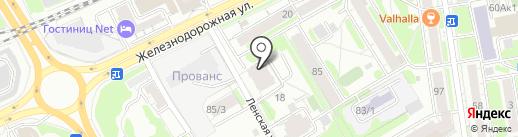 Росгосстрах, ПАО на карте Новосибирска