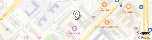 ВАХТОВИК на карте Новосибирска
