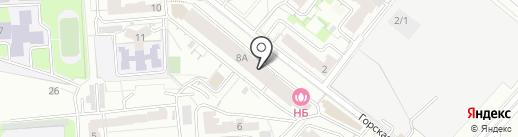 Алион на карте Новосибирска