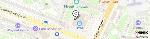 Сибирский коллекционер на карте Новосибирска