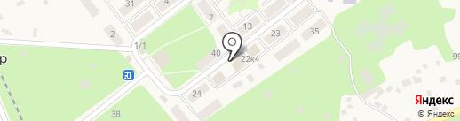Продовольственный магазин на карте Красного Яра