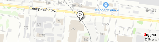 ПИК на карте Новосибирска