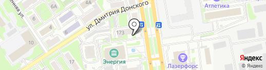 Союз женщин Новосибирской области на карте Новосибирска