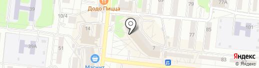 Магазин сантехники и инструмента на карте Новосибирска