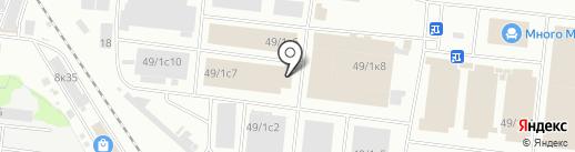 МКС БОНАТ на карте Новосибирска