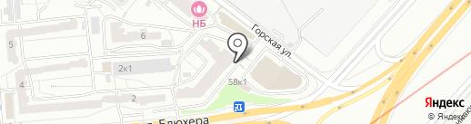 Lift DS на карте Новосибирска