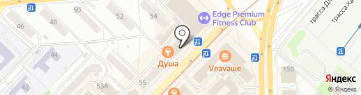 Здоровый путь на карте Новосибирска
