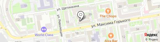Сибирская Школа Фотографии на карте Новосибирска