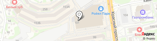 THEFACESHOP на карте Новосибирска