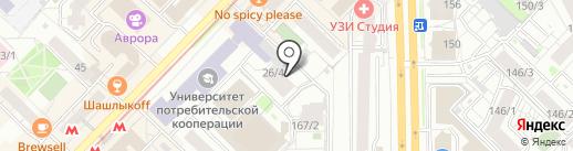 Минский моторный завод на карте Новосибирска