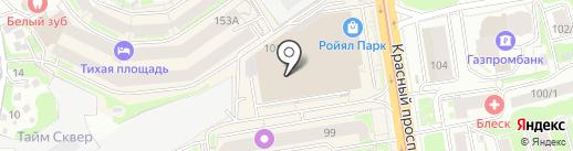 InfoLife на карте Новосибирска