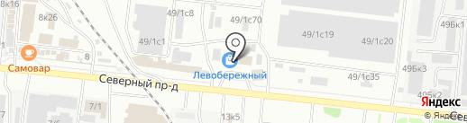 ИМПЕРА на карте Новосибирска