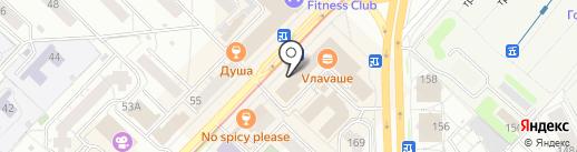 БиПи на карте Новосибирска